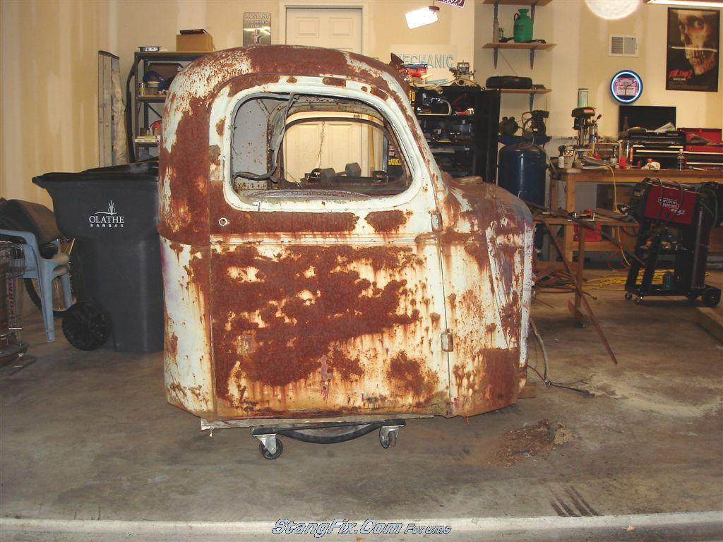 RAT ROD - '39(?) Ford Truck