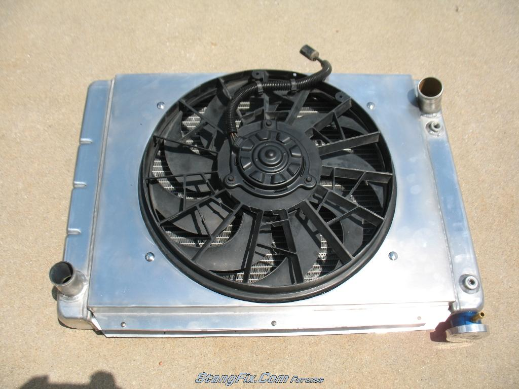 Ford Taurus Fan Size Is Your Car Wiring Diagram Bronco Forum Gm3115208 1 Source Custom Electric Install Aluminum Shroud Vintage