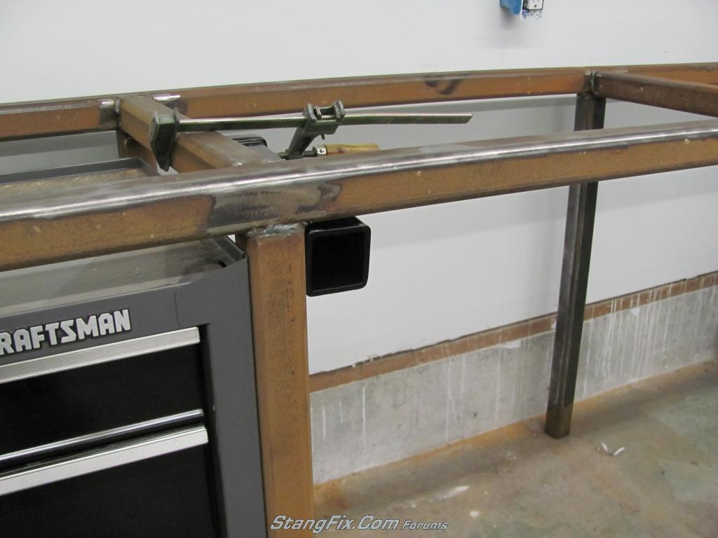 My Steel Workbench Build Stangfix Com